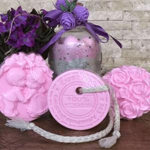Kit Primavera Luxo com sais de banho